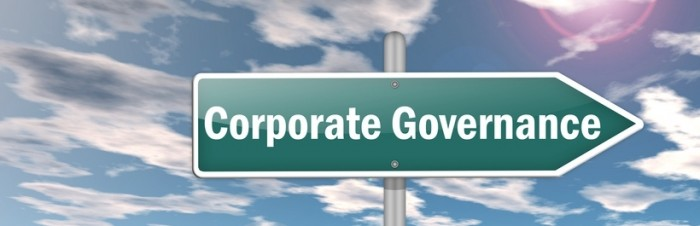 "Signpost ""Corporate Governance"""